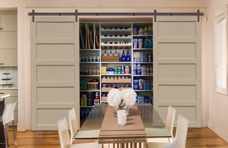 Pantry Sliding Barn Doors In San Diego, CA