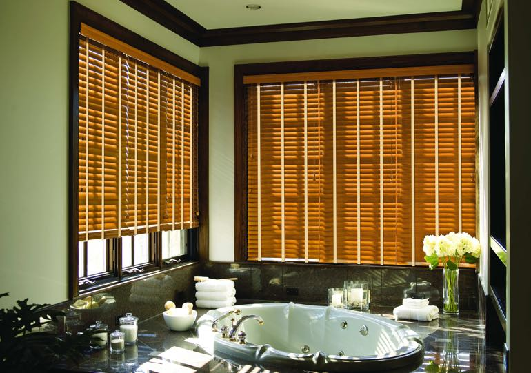 San Diego bathroom blinds