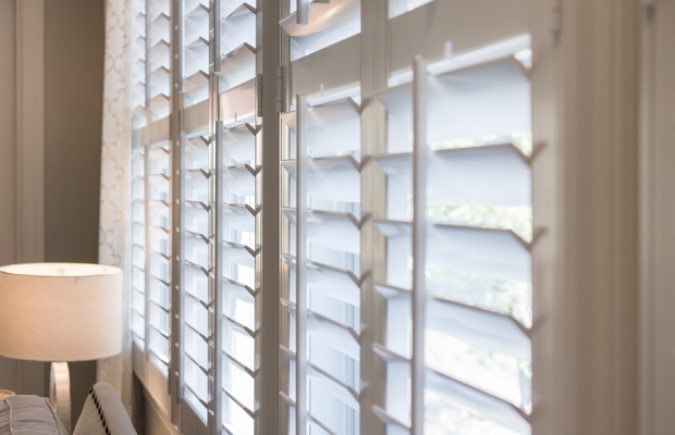 San Diego faux wood shutters