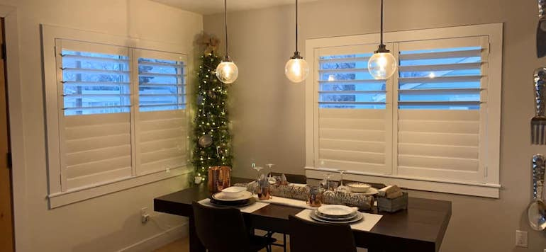 Making sure that your lighting fixture fits your space should be on your holiday improvement list.