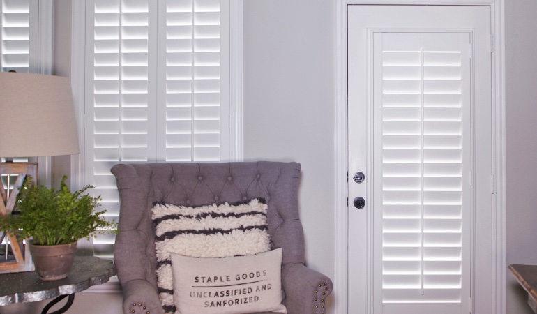 Plantation shutters in San Diego