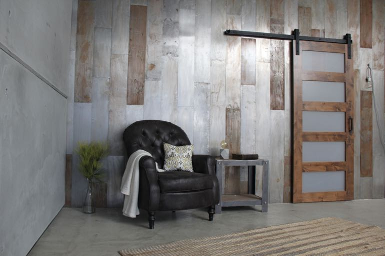 San Diego commercial barn door