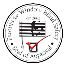 Seal of Approval by Parents for Window Blind Safety in San Diego