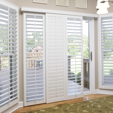 San Diego Sliding Patio Door Shutters