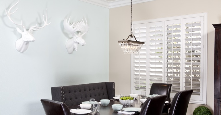 San Diego dining room shutters