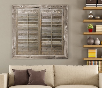 Reclaimed Wood Shutters Product In San Diego