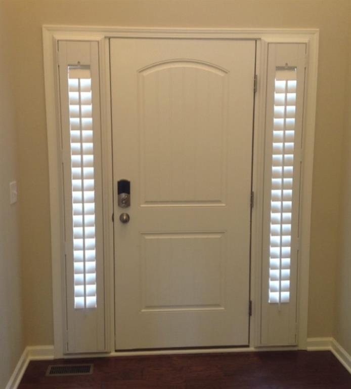 Entry Door Sidelight Shutters In San Diego, CA