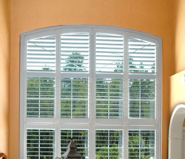 Arched Window Shutters In San Diego, CA