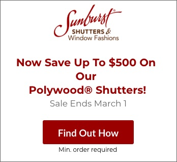 Sale on San Diego Polywood Shutters