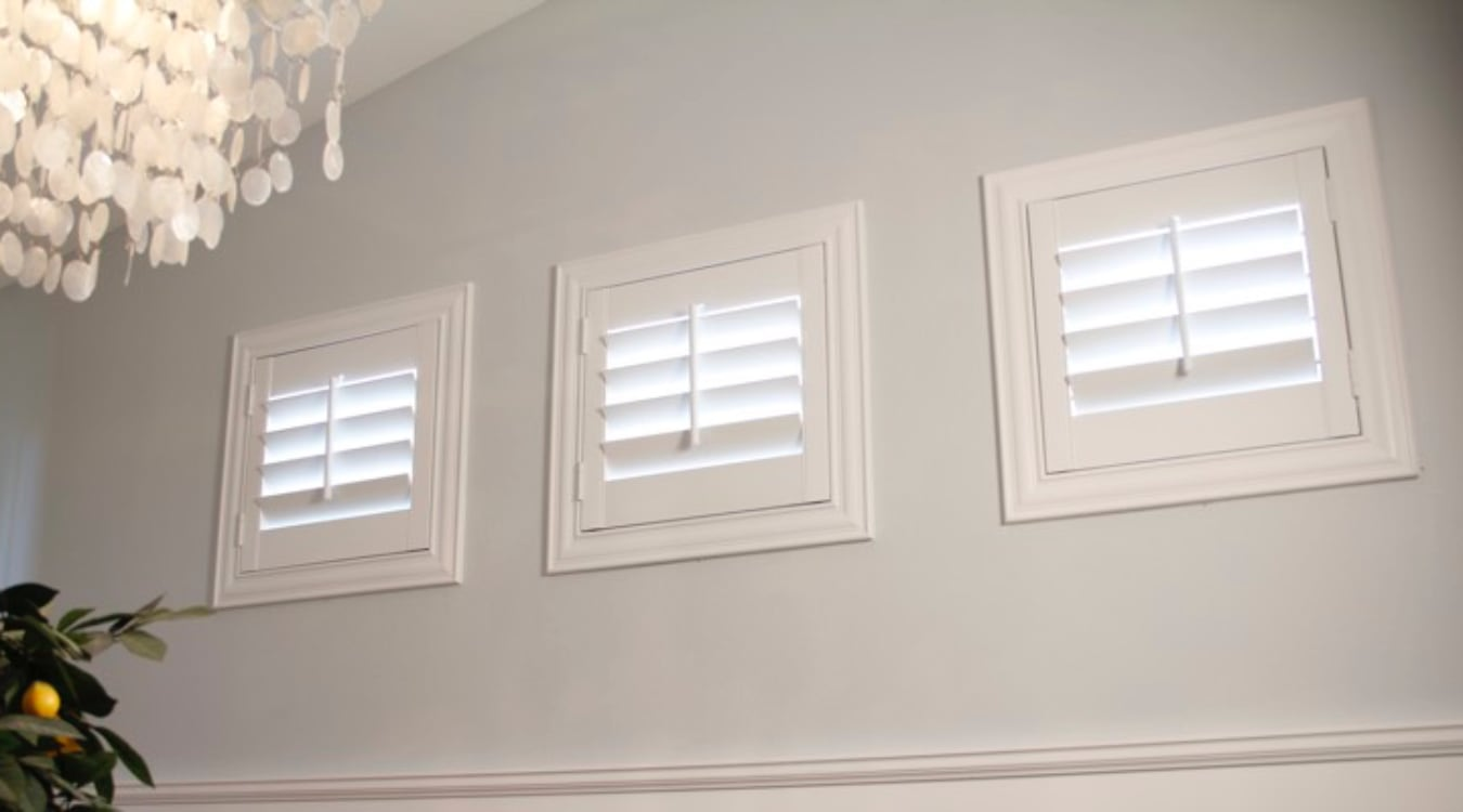 San Diego small window shutters