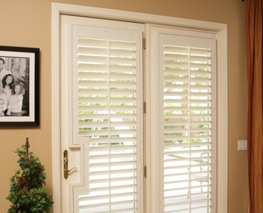 San Diego french door shutters