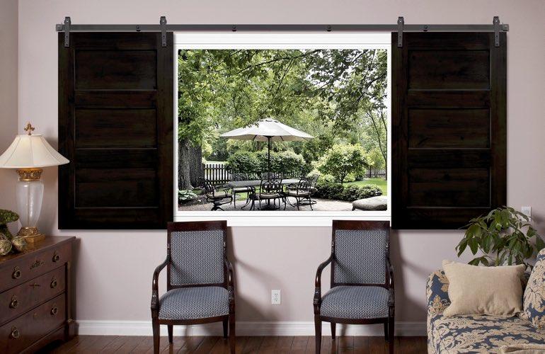 Barn Doors For Living Room Windows