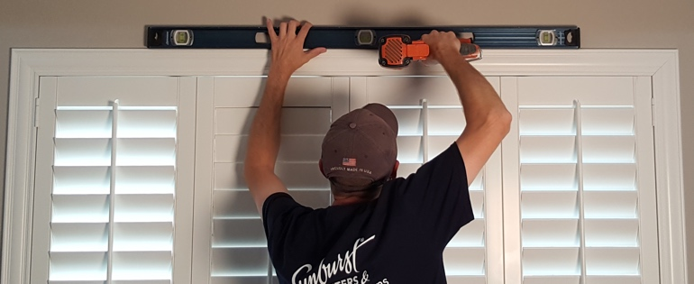 San Diego shutter installation window measure