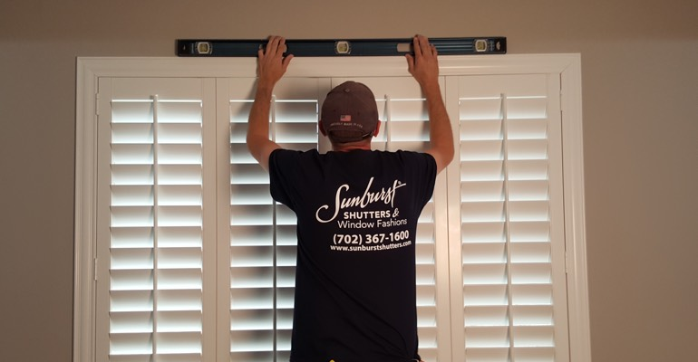 San Diego plantation shutter measurement