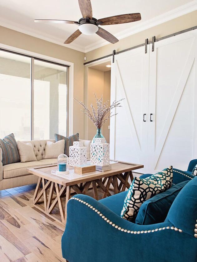 San Diego room divider barn door slider