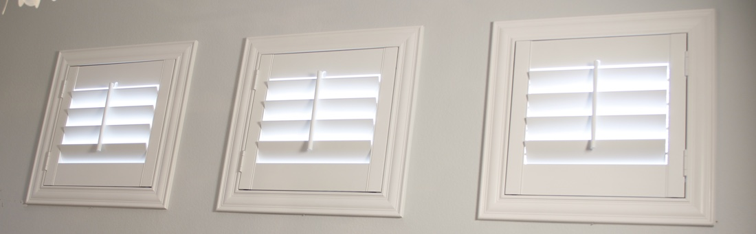 San Diego casement window shutter.